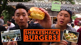 SHAKE SHACK BURGERS NYC - Fung Bros Food