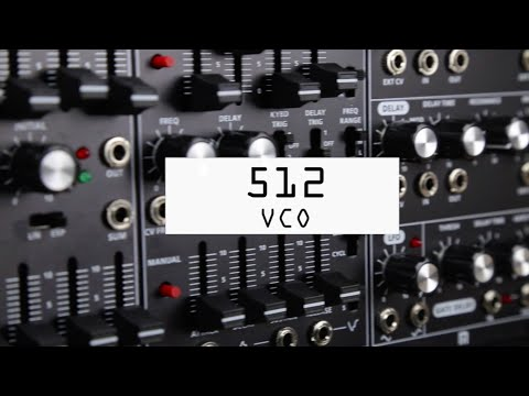 Roland System 500 Modular Synth - 512 Dual VCO Module (B-Stock)