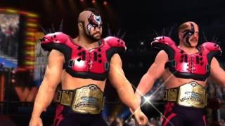 WWE '12: The Undertaker & Kane Vs L.O.D (Animal & Hawk