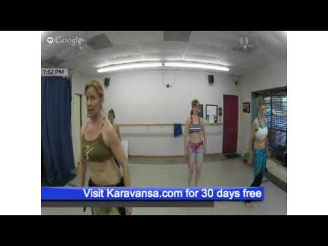 Belly Dance Drills   Shimmy   Hip Sways Tuesday 08_13