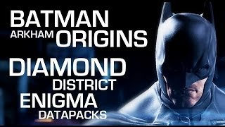 Batman: Arkham Origins Enigma Data Packs Diamond District