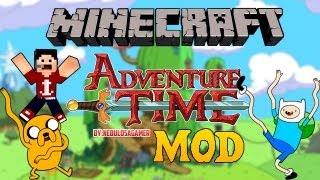 Minecraft 1.6.4 Como Instalar HORA DE AVENTURA MOD+MAPA
