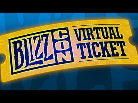 Rozdajemy BILETY na BLIZZCON! / Hearthstone!!!!!1111 / Official Blizzard Virtual Ticket
