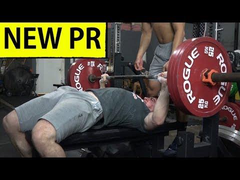 My Heaviest 2x Bodyweight Bench Press