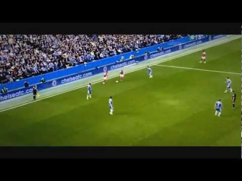 Theo Walcott incredible Goal vs Chelsea 2012 MUST WATCH!!!