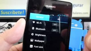 Como Configurar Wifi Huawei Ascend Y300 Y511 Y220 Y530