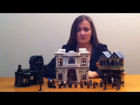 Lego Harry Potter 10217 Diagon Alley Review