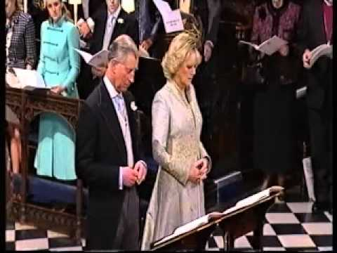 (2) Charles/Camilla wedding - Hymn Immortal Invisible God