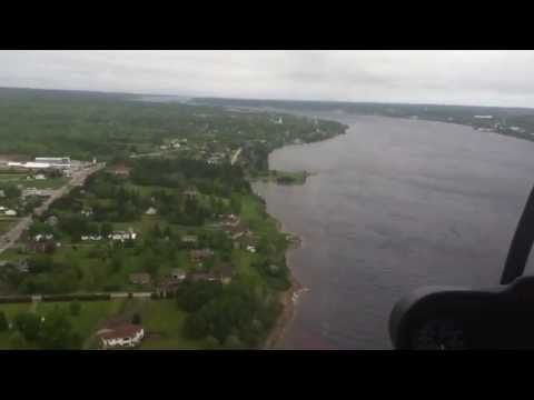 Flying over Miramichi Tall Ships June 1, 2013 part 2