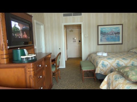 Disney's Grand Floridian Standard Room Tour with Theme Park View