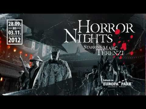Marc Terenzi Horror Nights 2012 Trailer