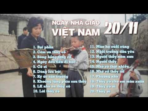 Những bài hát hát! hay nhất nhân ngày Nhà giáo Việt Nam