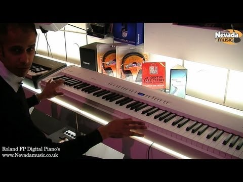 Roland FP-50 and FP-80 digital piano - In depth review at Nevada Music UK