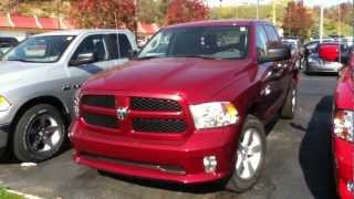 Craig Dennis' Exclusive New 2013 Ram 1500 Crew Cab Express 4X4 Deals Near Pittsburgh. videos