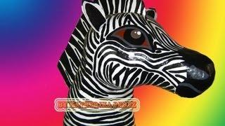 Piñata de Zebra