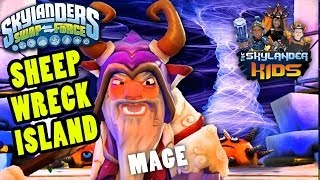 Let's Play Skylanders Swap Force: Sheep Wreck Island (Wave