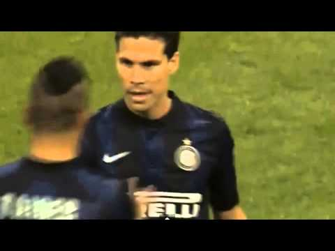 Hernanes Amazing goal 4-1 - Inter vs Lazio 2014