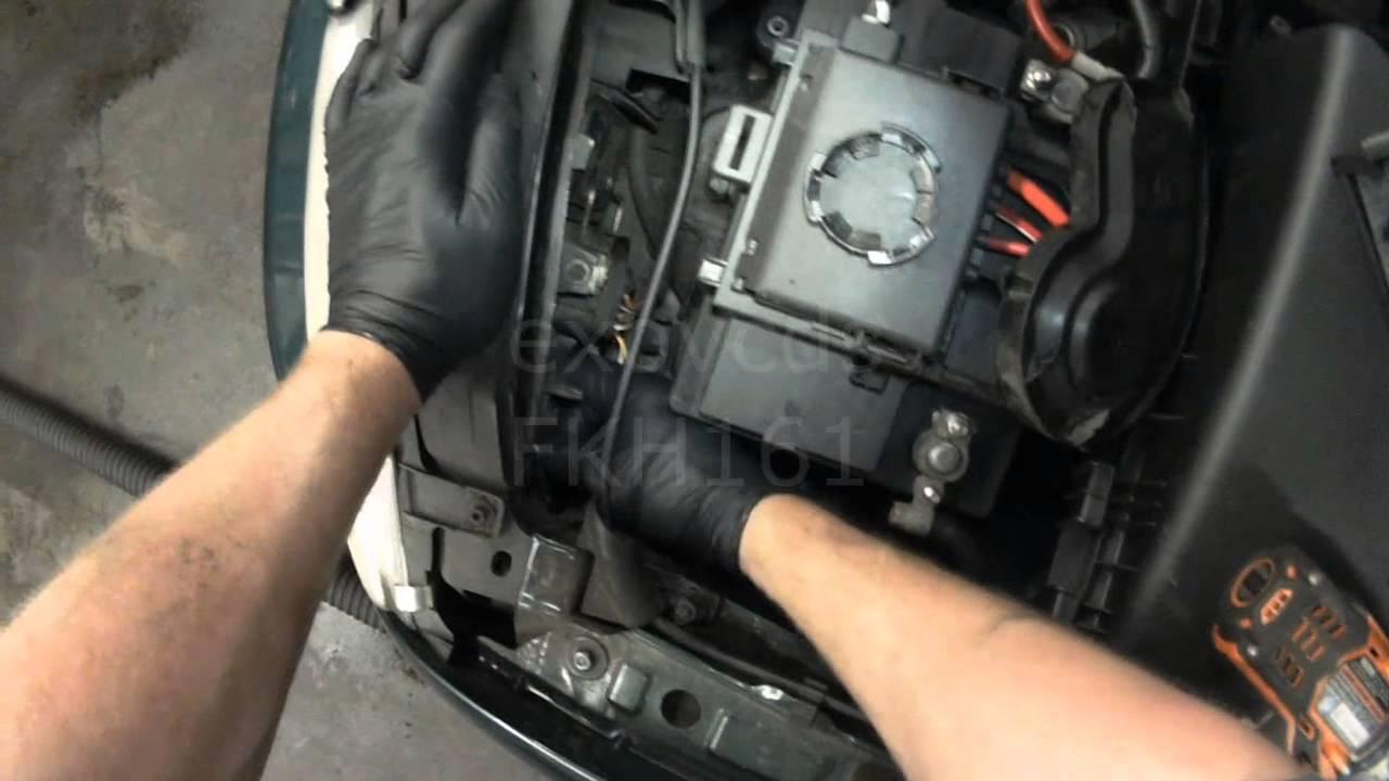 Vw A4 Jetta Golf Headlight Bulb Replacement 9004 9007