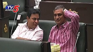 KTR, Harish Rao Draw Special Attention in Telangana Assemb..