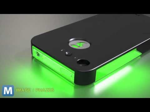 how to turn on the led light on iphone 5
