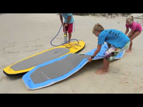 Inflatable Stand Up Paddle Board Currumbin Youtube