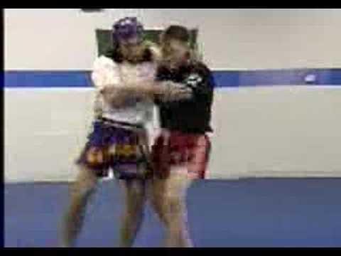 Muay Thai Defense Against Knees Image 1