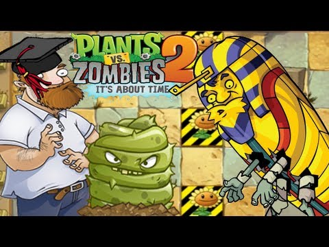Plants vs. Zombies 2: Ancient Egypt - Day 15 (Save our Seeds #1)