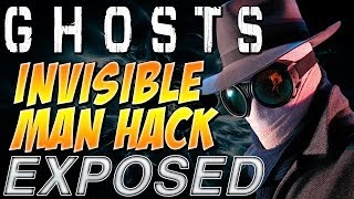 """COD Ghosts """"INVISIBLE MAN HACK"""" Exposed! """"INVINCIBILITY"""
