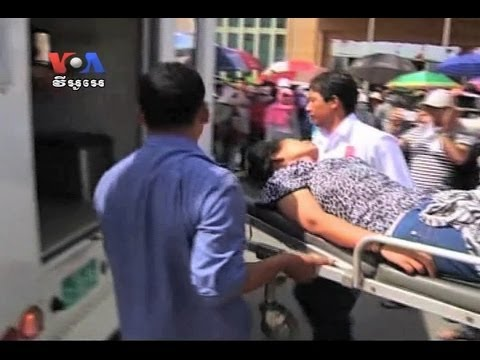 Cambodian Workers Protest After Many Were Fired
