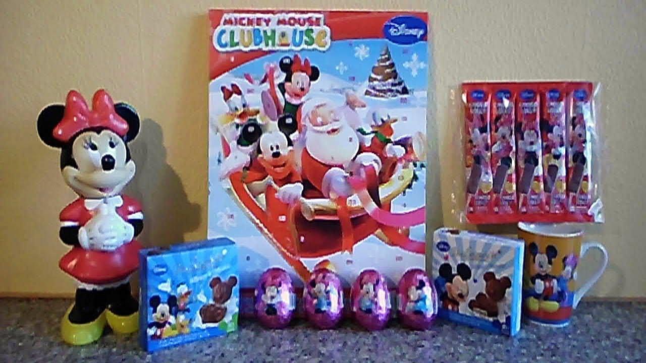 disney mickey minnie mouse mega set eggs toys unboxing chocolates ミッキーマウス