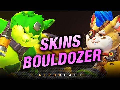 Les Skins de Bouldozer sont là ! ► Overwatch PTR