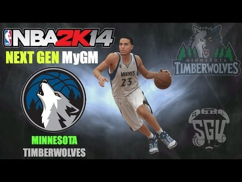 NBA 2K14 (PS4): MyGM ft the Minnesota Timberwolves - EP6 (Tough Schedule & A Trade!)