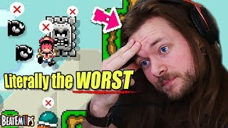 I'm NEVER playing Mario Maker 2 again because of this...