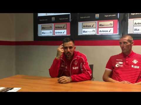 Copertina video Cremonese-Piacenza 1-2/interviste 1