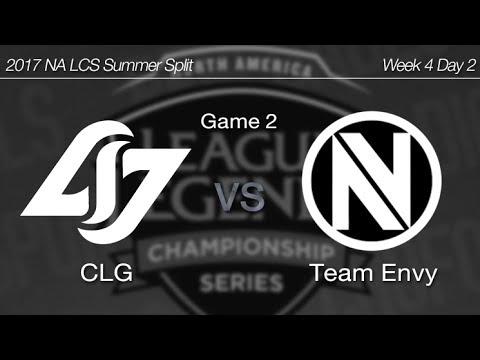 [ CLG vs Team Envy ] Game 2 - 2017 NA LCS Summer Week 4 Day 2 170625