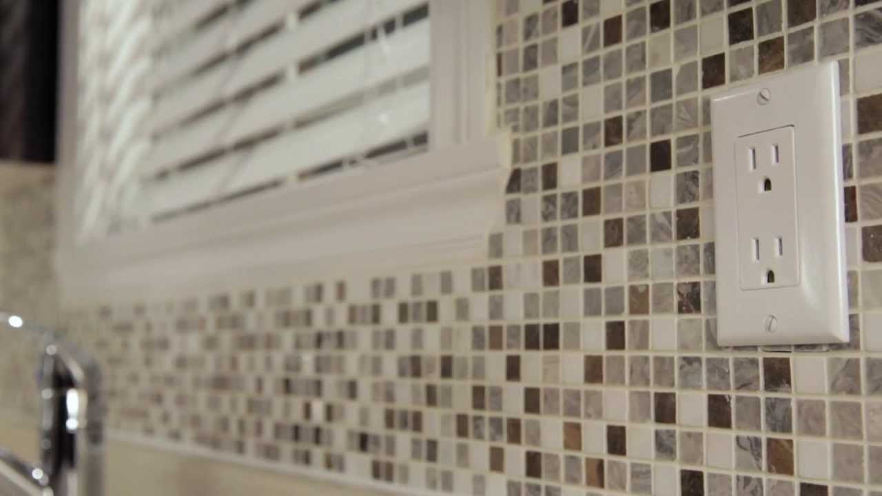Rona How To Install Mosaic Tiles Youtube