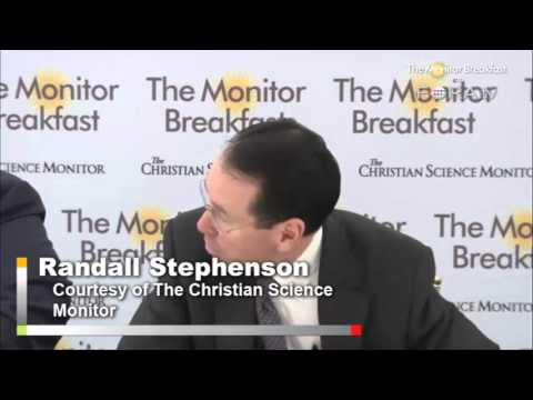 AT&T CEO Randall Stephenson on NSA and Phone Data