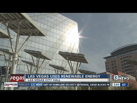 Las Vegas Now Uses 100 percent of its Energy From Renewables