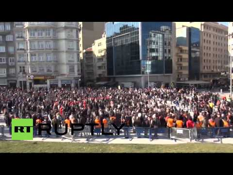 Turkey: Clashes break out at rally for murdered journalist