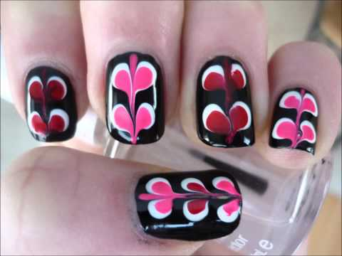 "Easy & Unique Valentine's Day ""VALENTINE HEART"" Nail Art Tutorial"