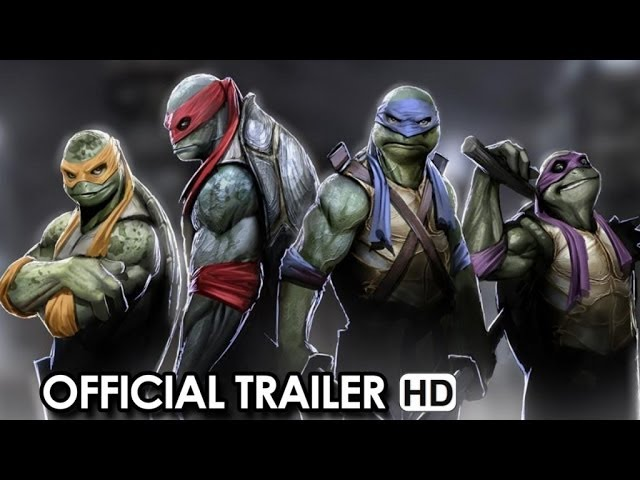 Teenage Mutant Ninja Turtles Official Trailer #1 (2014)