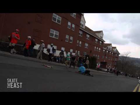 Kid Takes The Homies Out - Ithaca Skate Jam 2014