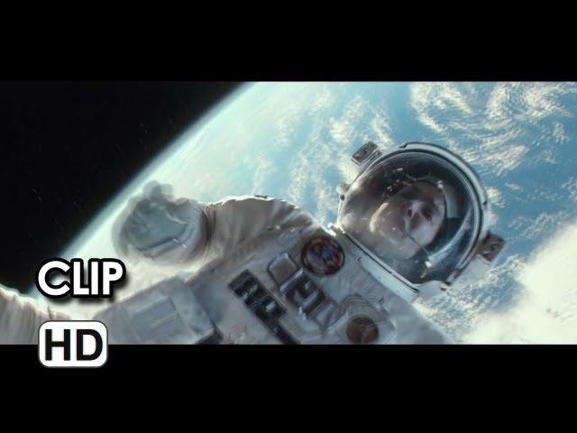 Gravity Extended CLIP - Hang On (2013) - Sandra Bullock Movie HD