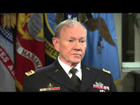 Gen. Dempsey on Ukraine, military sex abuse and budget cuts