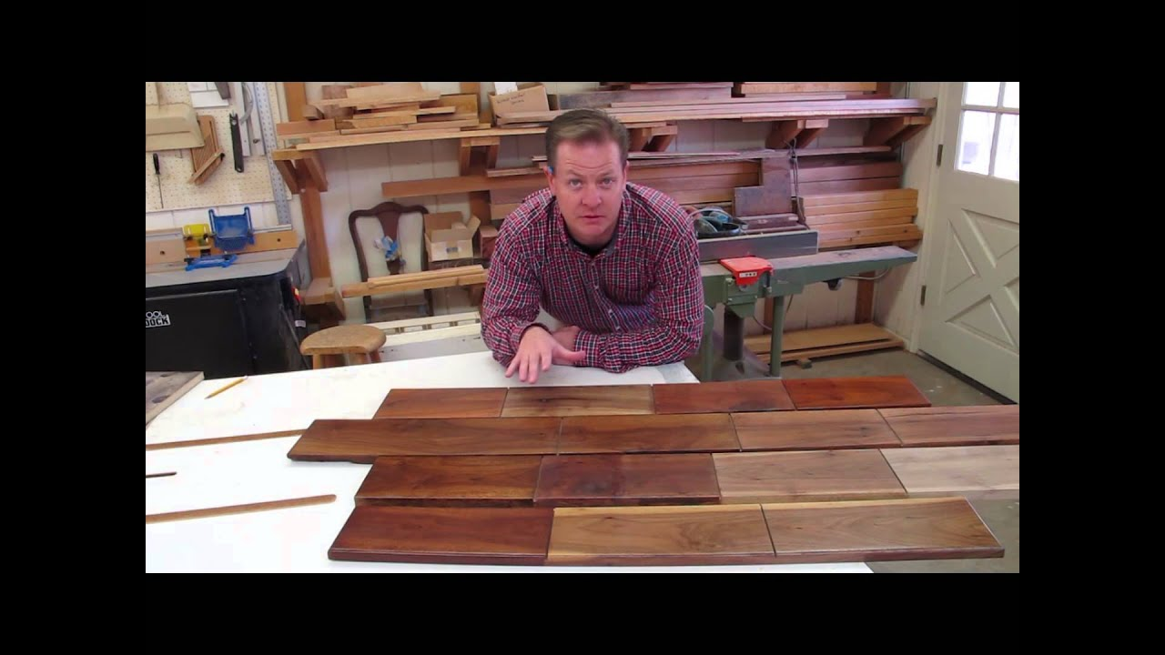 How To Finish Walnut For Great Color In Woodworking