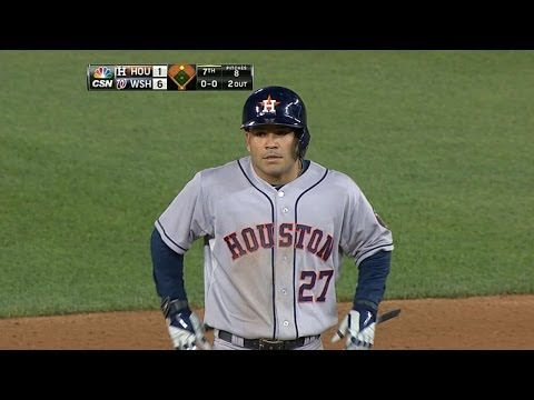 HOU@WSH: Altuve goes 4-for-5, drives in two