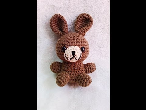 How to crochet [Basic / Doll / Bunny] ตุ๊กตากระต่าย(ถักโครเชต์)