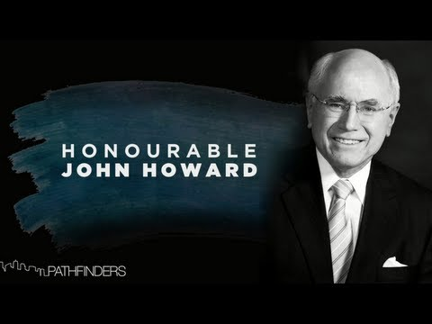Phil Pringle interview with The Honorable John Howard | Pathfinders Business Breakfast