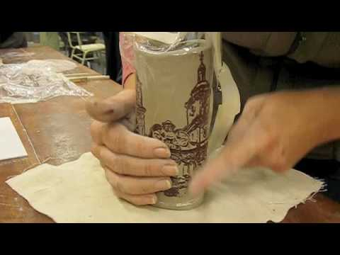Serigrafia Sobre Ceramica Daniel Pereyra Youtube