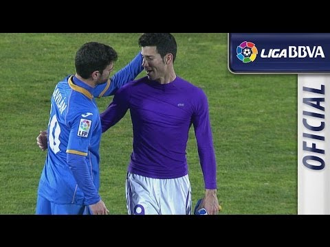 Todas las ocasiones de Getafe CF (0-0) Real Valladolid - HD - Highlights